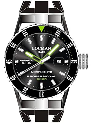 Locman Montecristo Professional Divers' PVD Automatic from watchmaker Locman Italy