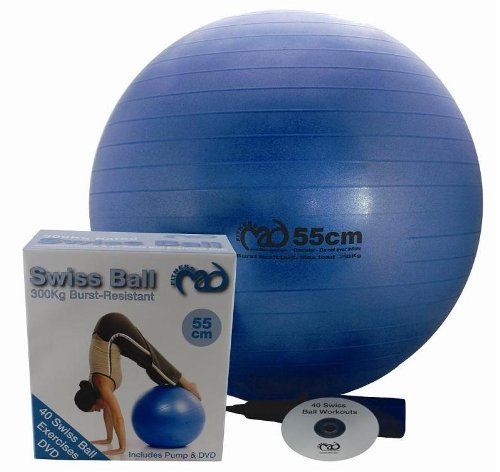 Be-Active Swiss Ball with DVD