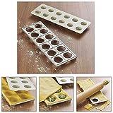 Lakeland Ravioli Pasta Maker Mould Press (Makes 12) Recipe Included