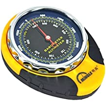 Alcoa Prime 4-in-1 Pockect Digital Altimeter Barometer Compass Thermometer With Carabiner For Outdoor Sports Camping...