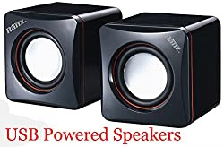 RANZ USB Powered Speakers for Laptop and Desktop GD218