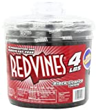 Red Vines Black Licorice Twists, 4 lb Tub