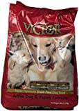 Victor Dog Food Grain-Free Active Dog and Puppy Beef Meal and Sweet Potato, 5-Pound