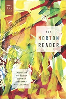 """norton reader essays Articles/essays from the norton reader as reference include a """"works cited"""" page at the end of your essay, as well as parenthetical citations."""