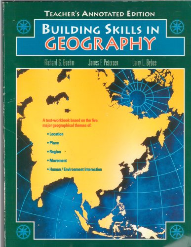 Building Skills in Geography, Teacher's Annotated Edition PDF