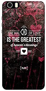 The Racoon Grip printed designer hard back mobile phone case cover for Creo Mark 1. (Madness of)
