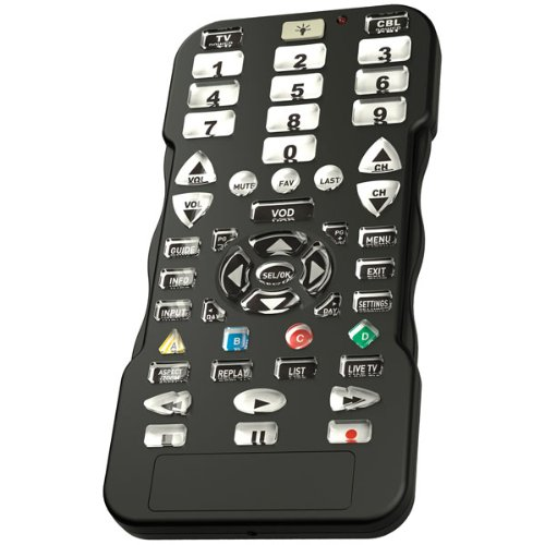 Simplicity Universal Cable and TV Remote Control