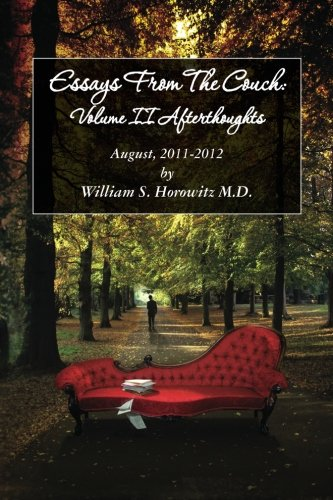 Essays from the Couch: Afterthoughts: August, 2012
