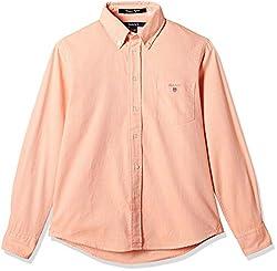 Gant Boys' Shirt (GBSEF0017_Clementine_XL)