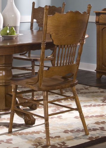 Nostalgia Double Press Back Side Chair 1 Each front-941568
