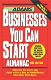 Adams Businesses You Can Start Almanac