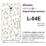 docomo Optimus G Pro L-04E ケース Optimus G Pro L-04E カバー ケース・ジャケット【フラワー044/l04e-PM044】