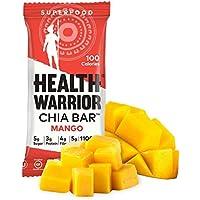 15-Pack Health Warrior 13.2-Ounce Mango Chia Bars