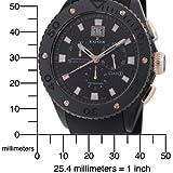 Edox Men's 10016 357RN NIR Class 1 Chronograph Watch
