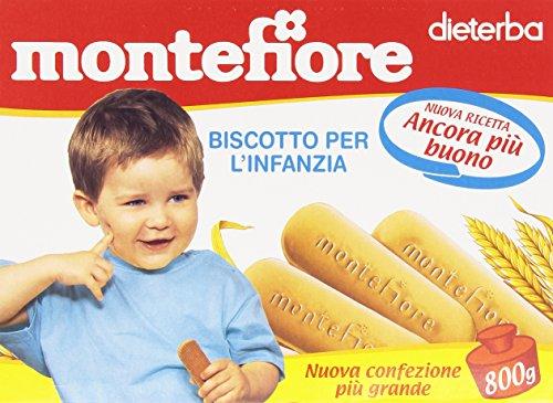 Montefiore - Biscotto per l'Infanzia, dal 4 mese - 800 g