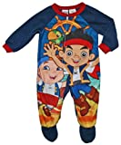 Jake and the Never Land Pirates Boys 12T-5T Footed Sleeper Pajama (5T)