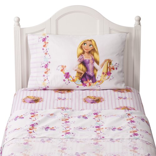 Disney Tangled Sheets - Pink (Twin)