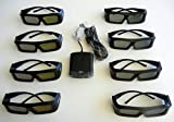 JVC Pk-ag1-b Glasses (8) and JVC Em