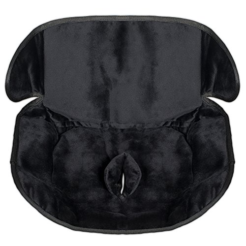Child Car Seat Protector,Black-Waterproof Liner/Saver For Potty Training Accidents-Only Pad With Anti-Leak Buckle Slit-Heavy Duty Piddle Pad Keeps Car Seat Dry-Deep Sides For Crumbs-Machine Wash & Dry (Baby Bumble Seat compare prices)