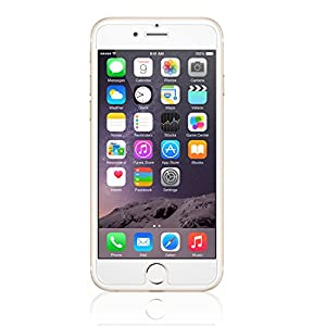 iPhone 6S Screen Protector Glass (2-Pack), amFilm® 0.3mm 2.5D Tempered Glass Screen Protector for Apple iPhone 6, iPhone 6S 2015 [Lifetime Warranty] from amFilm