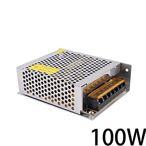 Himanjie® 100W Trafo zu DC 12V 8.3A LED Schalter Transformator Netzteil für LED-Streifen Schaltnetzteil