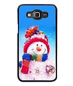 printtech Designer Snowmen Christmas Back Case Cover for Samsung Galaxy Grand 3 G720::Samsung Galaxy Grand Max G720