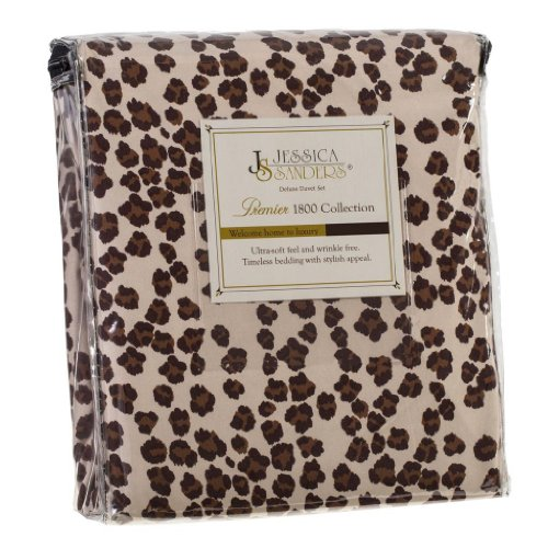Leopard Sheets King front-1025824