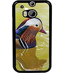 ColourCraft Beautiful Bird Design Back Case Cover for HTC ONE M8