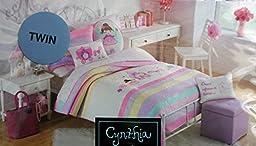 Cynthia Rowley Girls Twin Quilt -- Fairy Unicorn