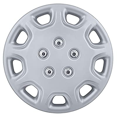 "14"" Set Of 4 Hubcaps Toyota Camry Wheel Covers Design Are Universal Hub Caps Fit Most 14 Inch Wheels"