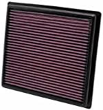 51F54zOLAPL. SL160  K&amp;N 33 2443 High Performance Replacement Air Filter for 2010 Lexus RX350 3.5L V6
