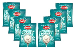 Easiyo Greek and Coconut Yogurt Mix 8 x 240g Sachets