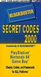 echange, troc Brady Games - Blockbuster Secret Codes 2000: Nintendo 64 Playstation Game Boy