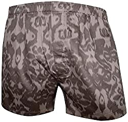 Shy Guy Pleasure Wear Men's Cotton Boxer Shorts (Beige)