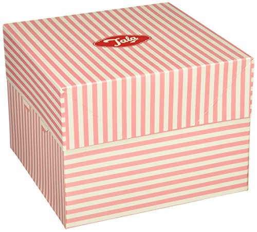 Tala Candy Striped Cake Box, 20cm, Pink 20 Cm Cake