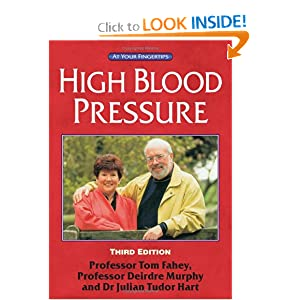 Click to buy Hypertension Symptoms: High Blood Pressure: The 'At Your Fingertips' Guide from Amazon!
