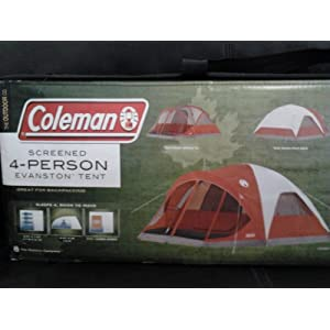 you want to buy Coleman 4-Person Evanston Tent with Screened Porch Canopy 9 Ft x 7 Ft Fits Queen Bedyes ..! you comes at the right place. you can get ...  sc 1 st  Family C&ing Tents & Family Camping Tents: Coleman 4-Person Evanston Tent with Screened ...