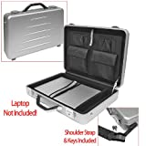 Aluminum Laptop Case - 17in., Model# 75-100MTL