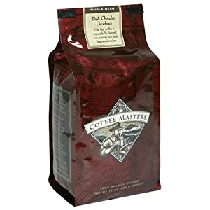 Coffee Masters Flavored Coffee, Dark Chocolate Decadence, Whole Bean, 12-Ounce Bags (Pack of 4) at Sears.com