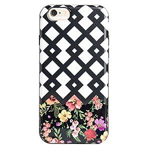 Agent18 iPhone 6 / iPhone 6S Case - FlexShield - Lattice / Flowers - Retail Packaging