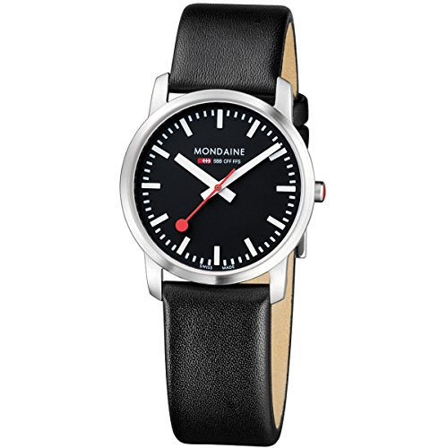 Mondaine Simply Elegant Women's Watch black/grey A400.30351.14SBB