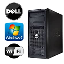 buy Dell Optiplex 755 Tower - Intel Core 2 Duo 2.13Ghz - 8Gb Ram - *New* 1Tb Hdd - Windows 7 Pro 64-Bit - Wifi - Dvd-Rom (Prepared By Recircuit)