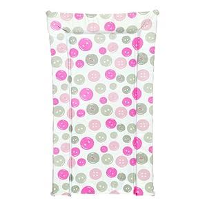 Kit for Kids - Manta cambiadora de bebé, diseño de botones, color rosa por Kit for Kids Baby - BebeHogar.com