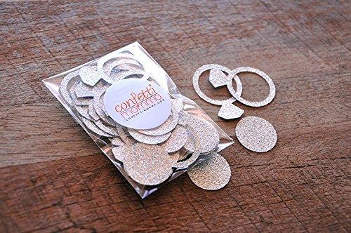 Engagement Ring Confetti. 2 Packs (40ct each). Bachelorette Party Decorations. Bridal Shower Decor.