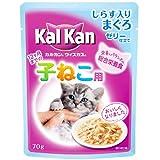 カルカン ウィスカス 味わいセレクト 12ヶ月までの子猫用 しらす入りまぐろ 70g
