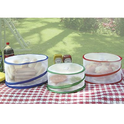 Trademark Innovations Pop Up Food Covers (Set of 3) - 1