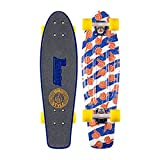 Penny Nickel Board Classic Complete Skateboard with Grip Tape, Bro Style, 27