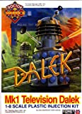 Mk1 Television Dalek [COMET MINIATURE #9] 1-8 Scale Plastic Injection MODEL Kit