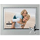Malden International Designs 'Vacation Memories' Anchor Beaded Metal Picture Frame, 4 by 6-Inch