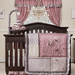 Fleur 9 Piece Crib Bedding Set